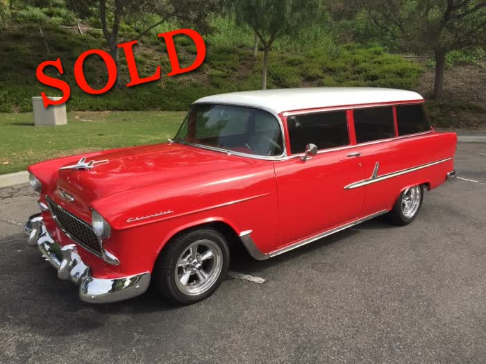 1955 Chevrolet 210 2 Door Wagon <font color=red>*SOLD*</font color>