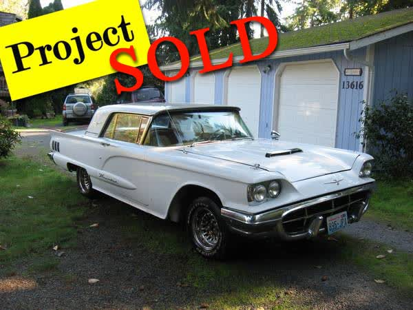 1960 Ford Thunderbird <font color=red>*SOLD*</font color>
