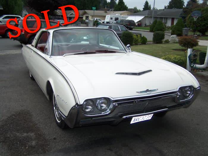 1961 Ford Thunderbird <font color=red>*SOLD*</font color>