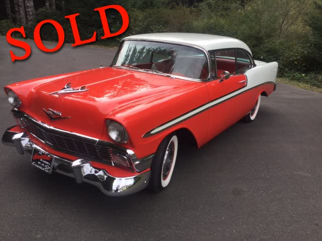 1956 Chevrolet Bel Air Sport Coupe <font color=red>*SOLD*</font color>