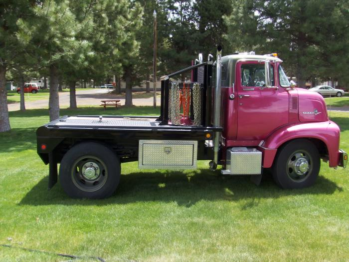 1956 Ford COE Flatbed