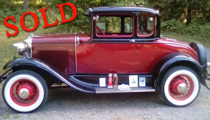 1931 Ford Model A Coupe <font color=red>*SOLD*</font color>