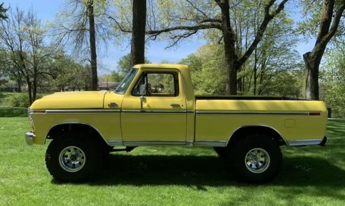 1979 Ford F150 SWB 4X4