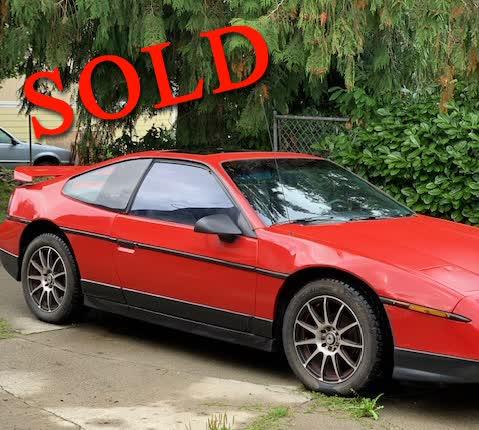 1986 Pontiac Fiero GT <font color=red>*SOLD*</font color>