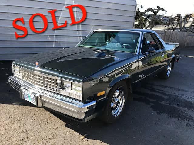 1985 Chevrolet El Camino Super Sport <font color=red>*SOLD*</font color>