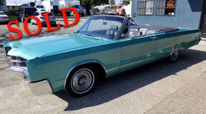 1967 Chrysler 300 Convertible <font color=red>*SOLD*</font color>