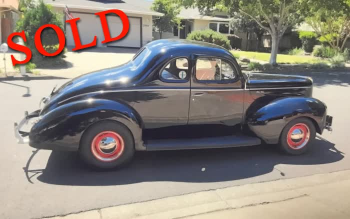 1940 Ford Deluxe Coupe <font color=red>*SOLD*</font color>