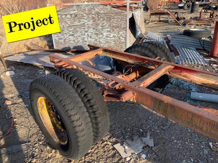 1947 Ford 1 Ton Rolling Chassis