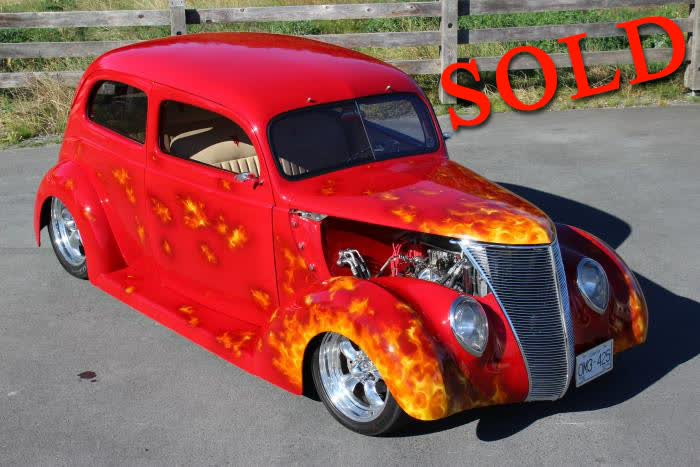 1937 Ford Flatback 2 Door <font color=red>*SOLD*</font color>