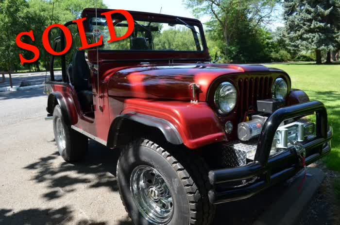 1957 Jeep CJ5 <font color=red>*SOLD*</font color>