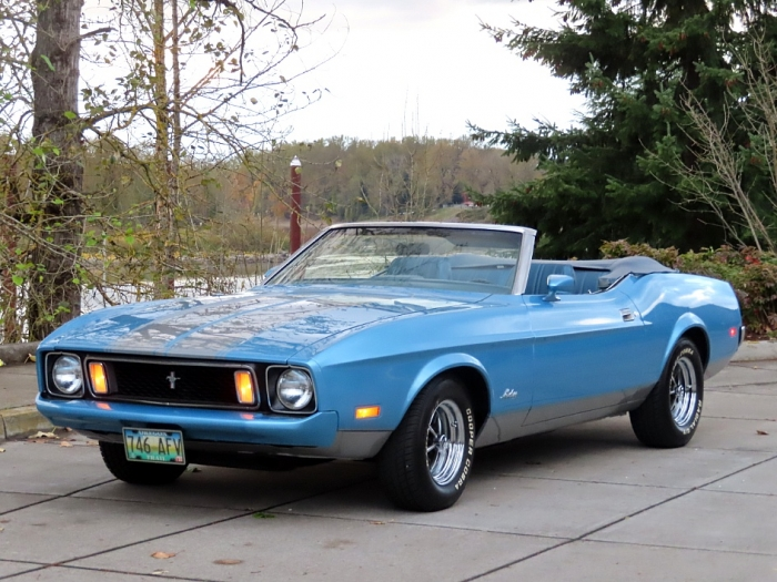 1973 Ford Mustang Convertible H Code