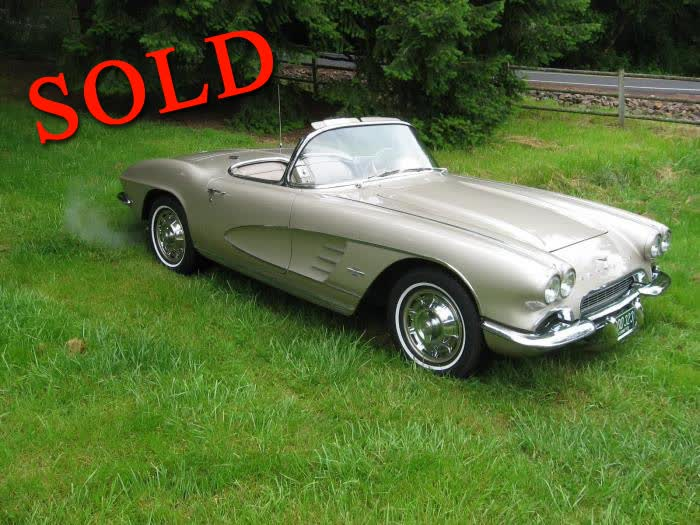 1961 Chevrolet Corvette Roadster <font color=red>*SOLD*</font color>