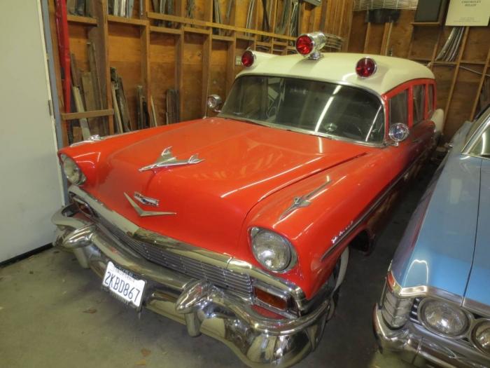 1956 Chevrolet National Ambulance