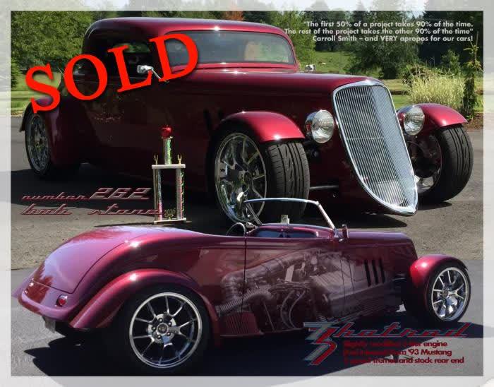 1933 Factory Five Hotrod 3 Window Coupe <font color>*SOLD*</font color>