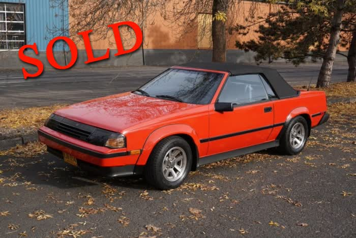 1985 Toyota Celica GT-S Convertible <font color=red>*SOLD*</font color>