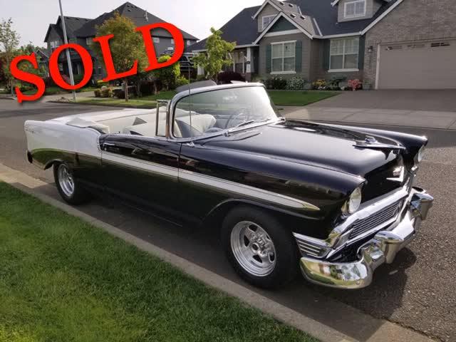 1956 Chevrolet Bel Air Convertible <font color=red>*SOLD*</font color>