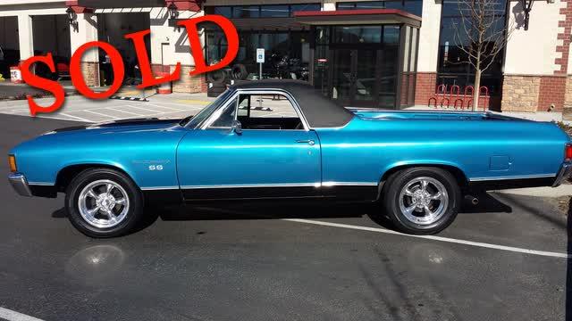 1972 Chevrolet El Camino <font color=red>*SOLD*</font color>