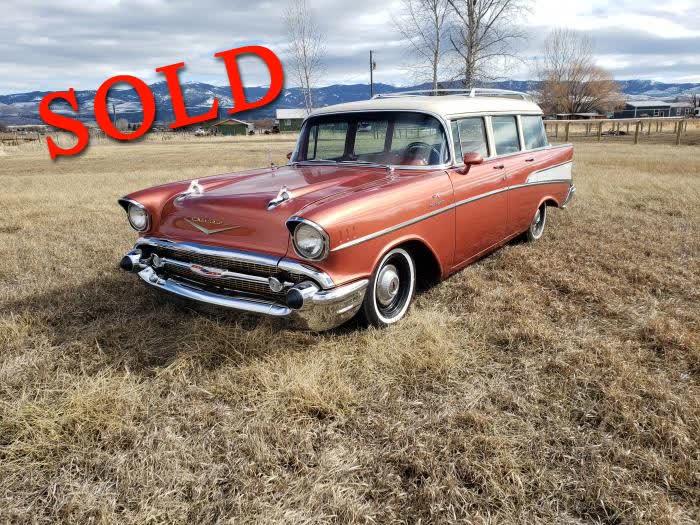 1957 Chevrolet Bel Air Station Wagon <font color=red>*SOLD*</font color>