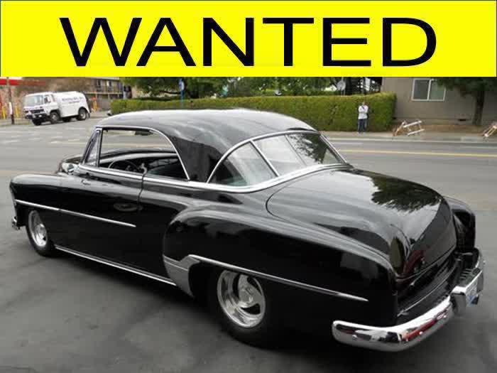WANTED - This 1952 Chevrolet 2 Door Hardtop