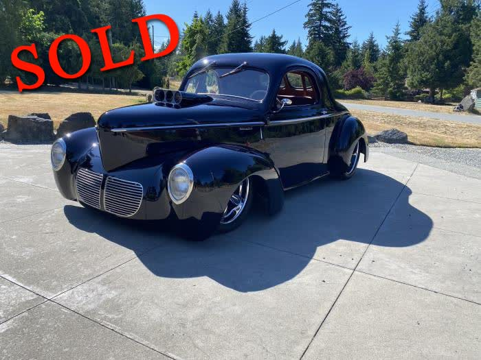 1940 Willys Coupe All Steel <font color=red>*SOLD*</font color>