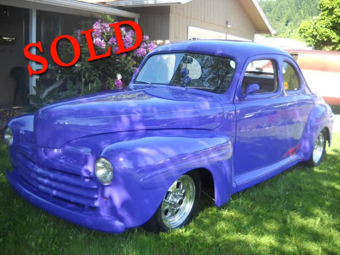 1946 Ford Coupe Street Rod <font color=red>*SOLD*</font color>
