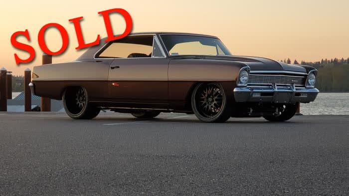 1966 Chevrolet Nova  (AKA ROOT OF ALL EVIL) <font color=red>*SOLD*</font color>