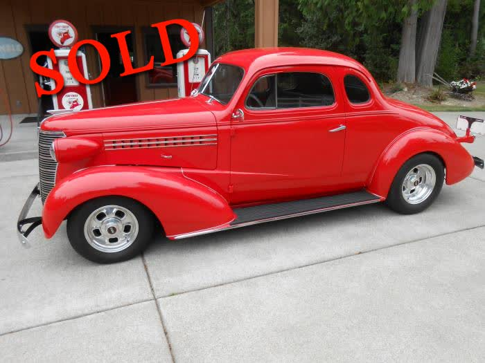 1938 Chevrolet 5 Window Business Coupe <font color=red>*SOLD*</font color>