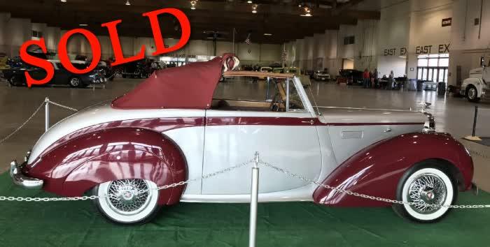 1953 Alvis TA21 Drophead Coupe (DHC) <font color=red>*SOLD*</font color>