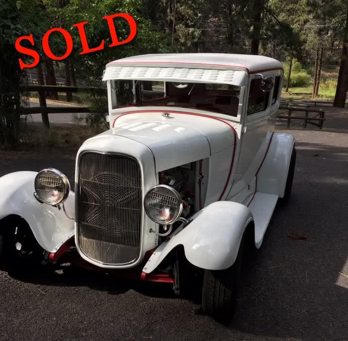 1929 Ford 2 Door Tudor Sedan Street Rod Street <font color=red>*SOLD*</font color>