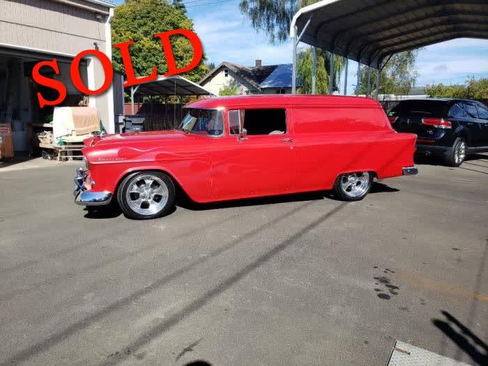 1955 Chevrolet Sedan Delivery <font color=red>*SOLD*</font color>