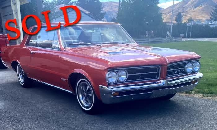 1964 Pontiac GTO <font color=red>*SOLD*</font color>