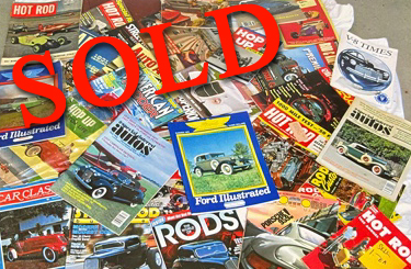 Car Magazine Collection 1950's  - 1990's <font color=red>*SOLD*</font color>