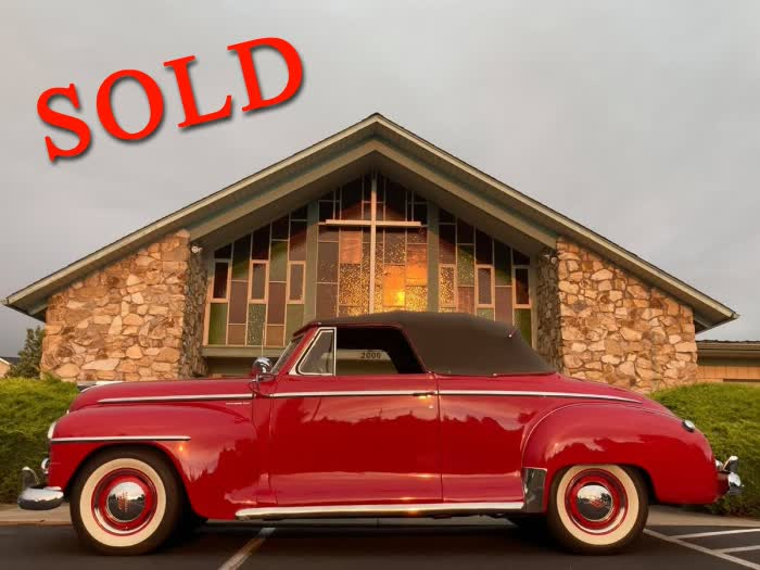 1948 Plymouth Special Deluxe <font color=red>*SOLD*</font color>