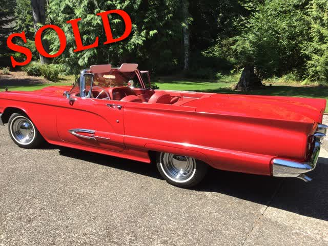 1959 Ford Thunderbird Convertible <font color=red>*SOLD*</font color>