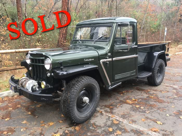 1961 Willys M28A1 Pickup 4 WD 1/4 Ton <font color=red>*SOLD*</font color>