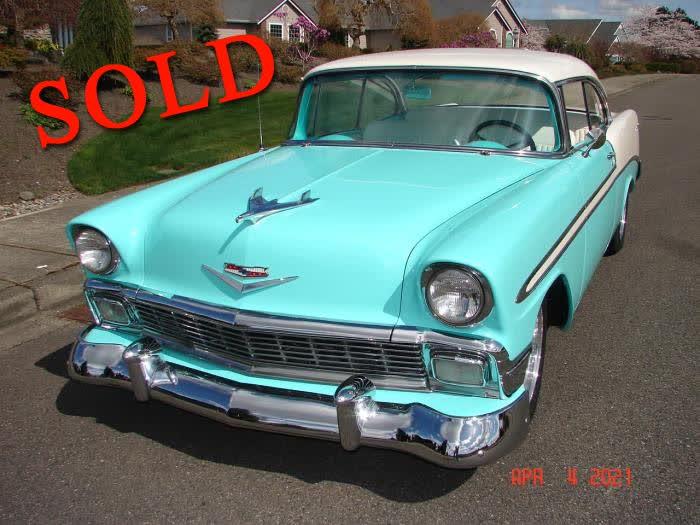 1956 Chevrolet  Bel Air 2 Dr Hardtop <font color=red>*SOLD*</font color>