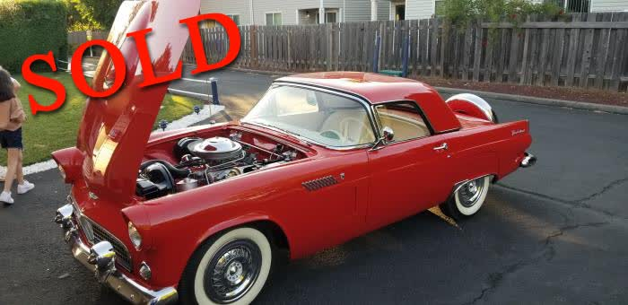 1956 Ford Thunderbird <font color=red>*SOLD*</font color>