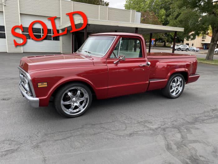 1970 GMC SWB Pickup <font color=red>*SOLD*</font color>