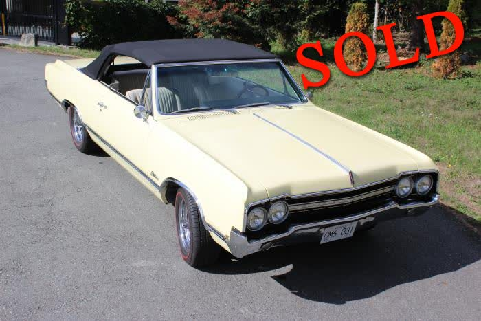 1965 Oldsmobile Cutlass Convertible <font color=red>*SOLD*</font color>