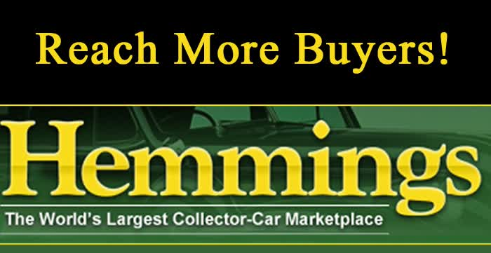 Include YOUR Ad On Hemmings Website Through Us And Save $$$