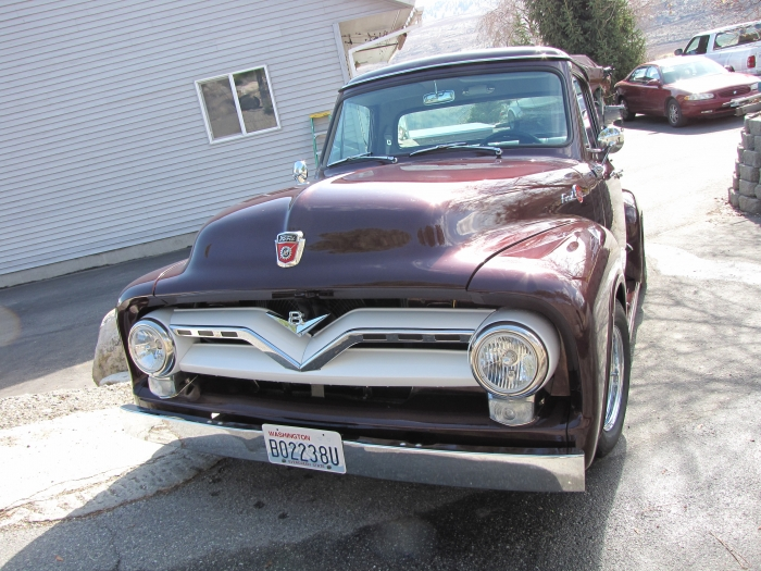 1955 Ford Pickup  - Complete Restoration