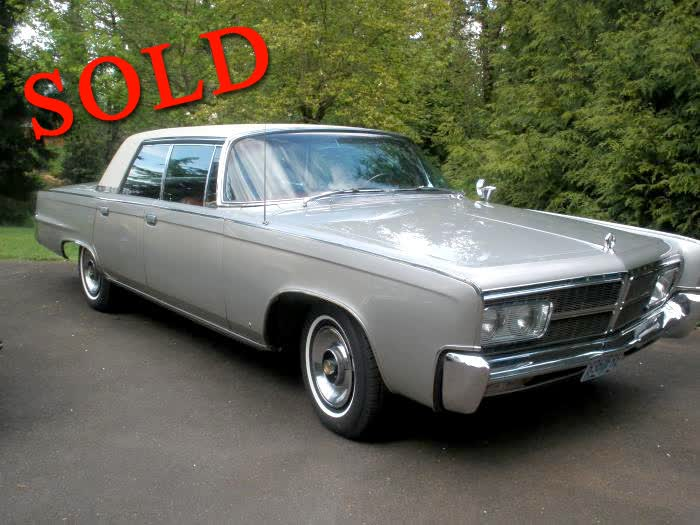 1965 Chrysler Crown Imperial With Cruise Control