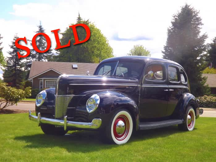 1940 Ford 4 Door Deluxe <font color=red>*SOLD*</font color>