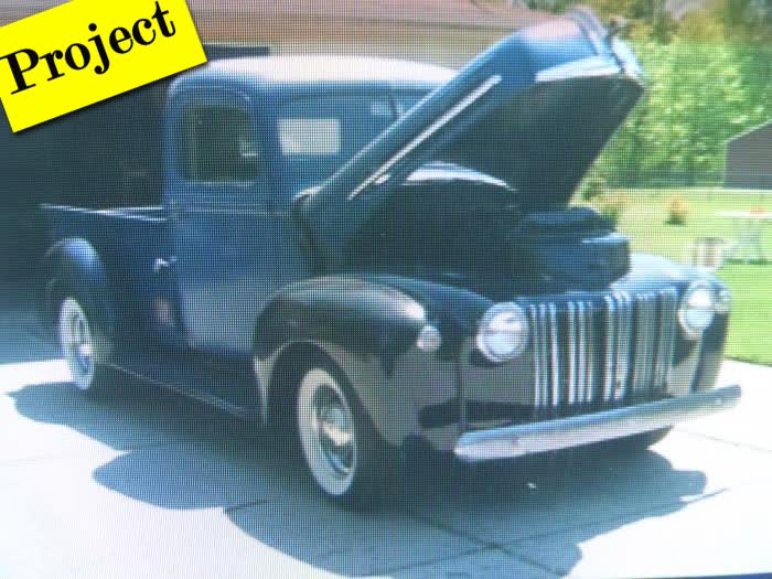 1947 Ford Fat Fender Truck