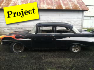 1957 Chevrolet 210 2 Door Post - PROJECT