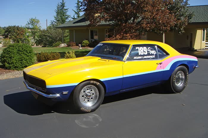 1968 Chevrolet Camaro Drag Car