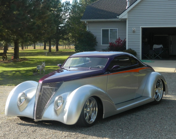 1937 Ford Oze Bodied  Phantom