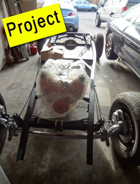 1932 Ford Hot Rod Chassis (Project)