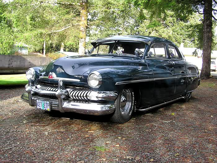 1951 Mercury 4 Door