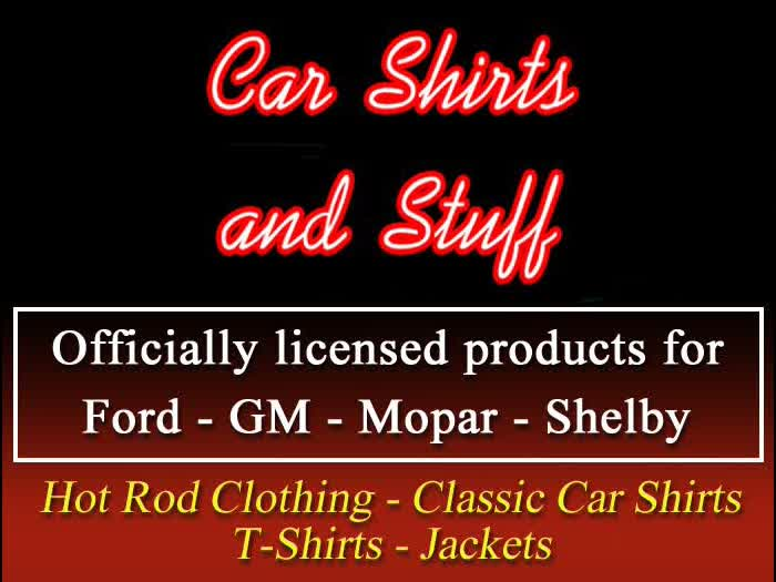 Car Shirts and Stuff